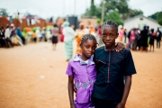 Children in an IDP camp in Nigeria. Taken on assignment for Tearfund.
