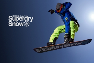 SuperDry Snow Campaign