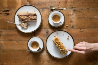 Coffee and cakes