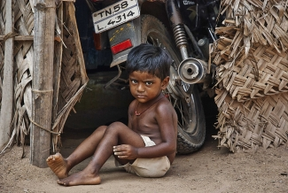 Boy in South India