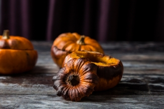 Mini pumpkins - sweet recipe