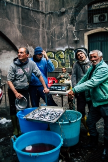 Catania, fish market - photo-story pubblished by Italy Magazine