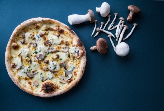 Pizza ai funghi - Winter menu '19 for Spaghetti house