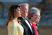 US President Donald Trump visit to the UK 2018